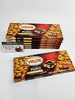 Шоколад Valor Puro (Чорний з мигдалем), фото 1