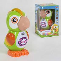 """Попугай 7496 """"Play Smart"""" интерактивный, сенсорный, стихи, сказки, песни, запись голоса, подсветка, в коробке"""