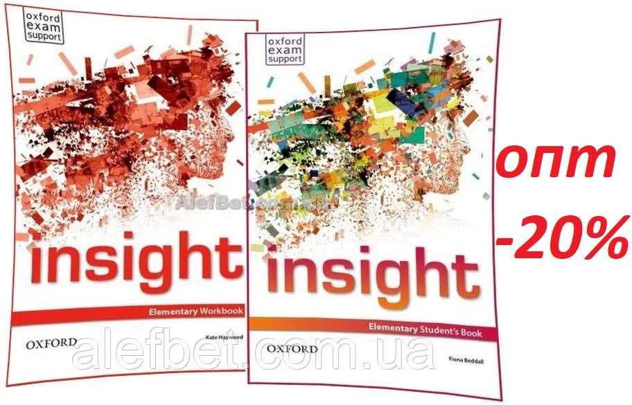 Английский язык / Insight / Student's+Workbook. Учебник+Тетрадь (комплект), Elementary / Oxford