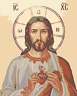 """Набір для розпису ікони """"Ісус в серці"""" (RBI008)"""