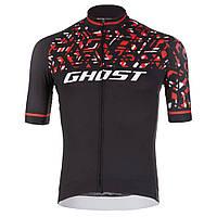 Джерси  Ghost Racing Jersey Short blk/red/wht - L