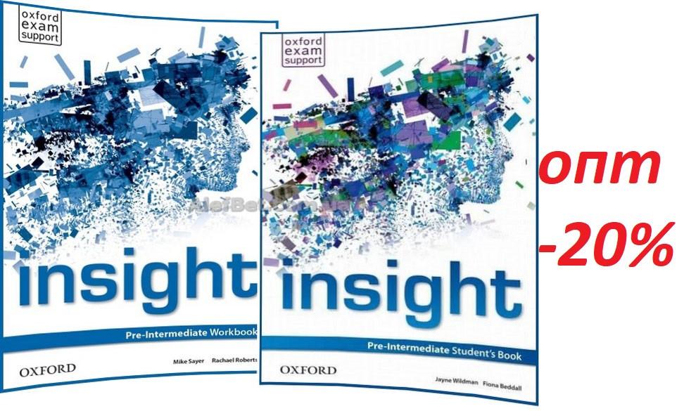 Англійська мова / Insight / student's+Workbook. Підручник+Зошит (комплект), Pre-Intermediate / Oxford