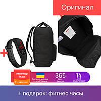 Рюкзак Fjallraven Kanken Classic (full black), рюкзак Канкен, черный портфель канкен