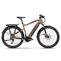"Электровелосипед Haibike SDURO Trekking 4.0 men i500Wh 10 s. Deore 28"", рама XL, песочно-черно-красный, 2020"