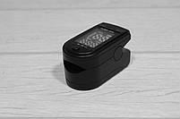 Беспроводной Измеритель пульса Fingertip Pulse Oximeter LK87 пульсометр на палец, компактный пульсоксиметр, фото 4