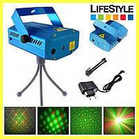 Диско лазер 4 в 1 LASER HJ08