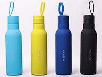 Маленький Термос-бутылка металлический для чая и кофе 475 мл Kamille KM-2020