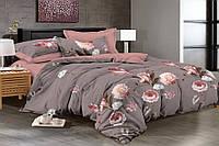 Двуспальное постельное белье 180х220 сатин_хлопок 100% (15988), фото 1