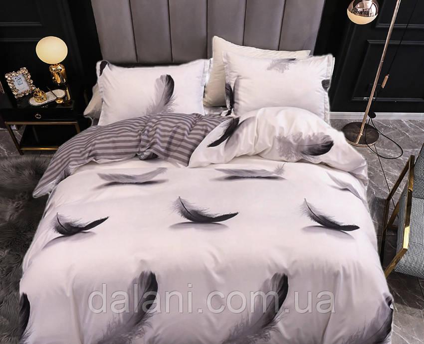 Евро комплект постельного белья из сатина