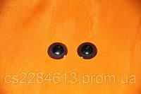 Глазки для игрушек и кукол,коричневые, d - 1,6 см ,пара
