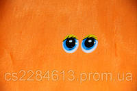 Глазки для игрушек и кукол,желто - голубые 1,0*2,0 см, пара