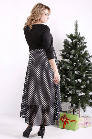 Красивое платье большие размеры с завышенной талией, фото 2