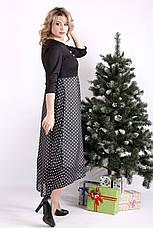 Красивое платье большие размеры с завышенной талией, фото 3