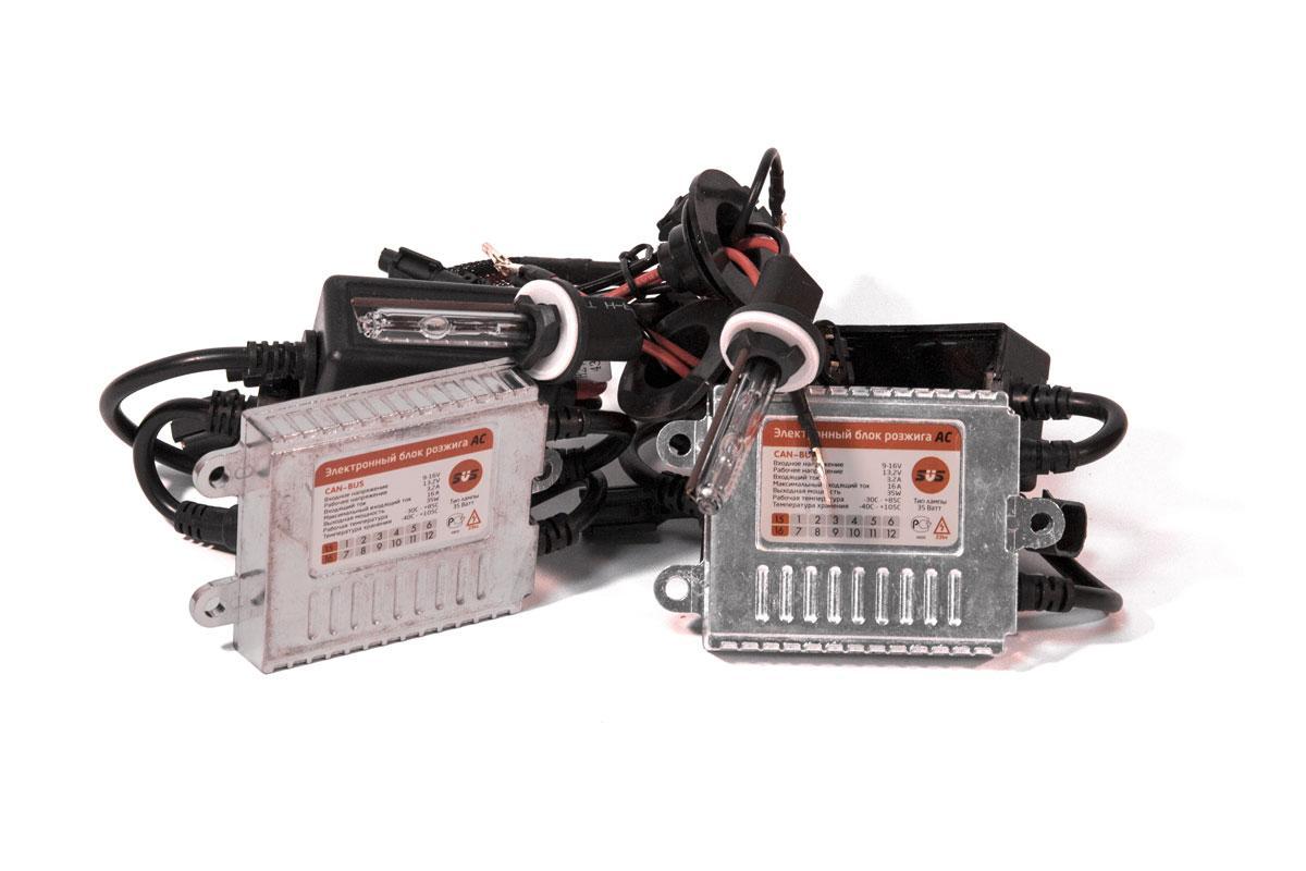 Комплект ксенона КВАНТ H27 4300К 12v с блоками AC