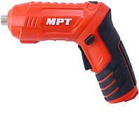 Отвертка аккумуляторная MPT - 4 В Li-Ion x 10 шт.