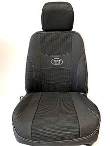 Чехлы на сидения Фиат Кубо  Fiat Qubo 2008- цельная Nika
