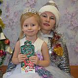 Детская корона, диадема на гребешке, тиара для девочки, высота 4,5 см., фото 4