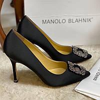 Женские туфли Manolo Blahnik 10 см (реплика)