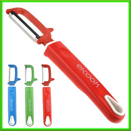 Нож для чистки овощей боковой El-COOK L18 см лезвие 5 см, фото 2