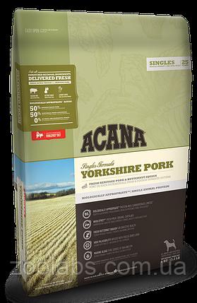 Корм Acana для собак и щенков со свининой   Acana Yorkshire Pork 6 кг, фото 2