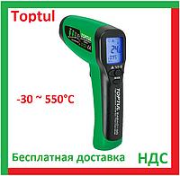Toptul EABA0155. Термометр, пирометр инфракрасный, цифровой, бесконтактный, ик, градусник, электронный, фото 1