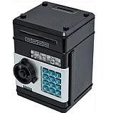 Детская электронная копилка сейф с кодовым замком и звуковыми эффектами Черный, фото 3