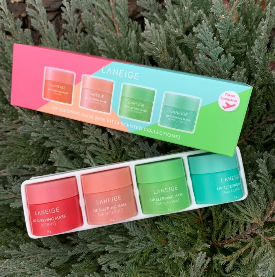Набор ночных масок для губ Laneige Lip Sleeping Mask Mini Kit 4eax 8g