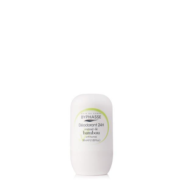 Byphasse 24h Deodorant Bamboo Extract Дезодорант роликовый дезодорант 50 мл