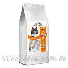 Home Food CAT ADULT корм для привередливых котов «Chicken & Liver» 400г