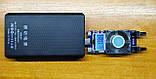 Готовый повербанк 6*18650 W6 выход 2xUSB 5V 2A вход 5V 2A type C или micro USB LED фонарик powerbank 19800mAh, фото 6