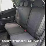 """Авточехлы Nika на Nissan Almera Economy 2006-2012 года цельная «горбы"""", фото 10"""