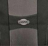"""Авточехлы Nika на Nissan Almera Economy 2006-2012 года цельная «горбы"""", фото 2"""