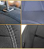 """Авточехлы Nika на Nissan Almera Economy 2006-2012 года цельная «горбы"""", фото 7"""