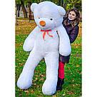 Плюшеві ведмеді Плюшевий ведмедик 1 МЕТР, Рожевий, фото 4