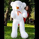 Плюшеві ведмеді Плюшевий ведмедик 1 МЕТР, Рожевий, фото 5