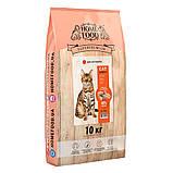 Home CAT Food ADULT корм для дорослих активних котів «Курочка і креветка» 400г, фото 4