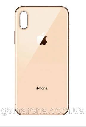 Задняя часть корпуса Apple iPhone XS Max Золотой, фото 2