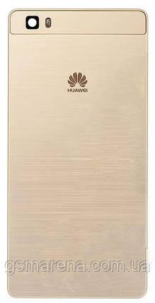 Задняя часть корпуса Huawei Ascend P8 Lite (ALE-L21) Золотой, фото 2