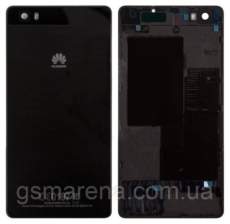 Задняя часть корпуса Huawei Ascend P8 Lite (ALE-L21) Черный
