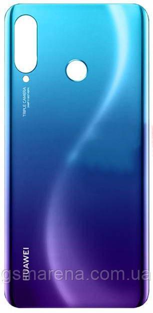 Задняя часть корпуса Huawei P30 Lite Синий