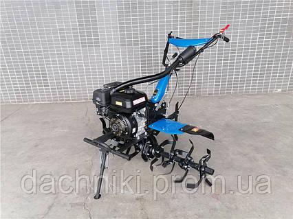 Мотоблок ДТЗ 470 БН (бензин, 7 л.с., передачи 3/1, колеса 4,00-8), фото 2