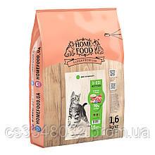 Home Food KITTEN корм для кошенят «Ягня з рисом» 1,6 кг