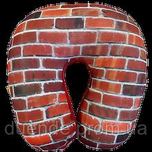 Подушка для путешествий антистресс Турист, полистерольные шарики 30*30 см / tp - 181102