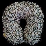 Подушка для путешествий антистресс Турист, полистерольные шарики 30*30 см / tp - 181102, фото 4