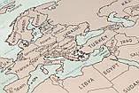 Скретч карта мира UFT Scratch World Map на английском (SK-001), фото 5