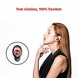 TWS T10 мини-наушники Bluetooth 6mai водонепроницаемый IPX-7 микрофон с шумоподавлением  (T10-0010), фото 3