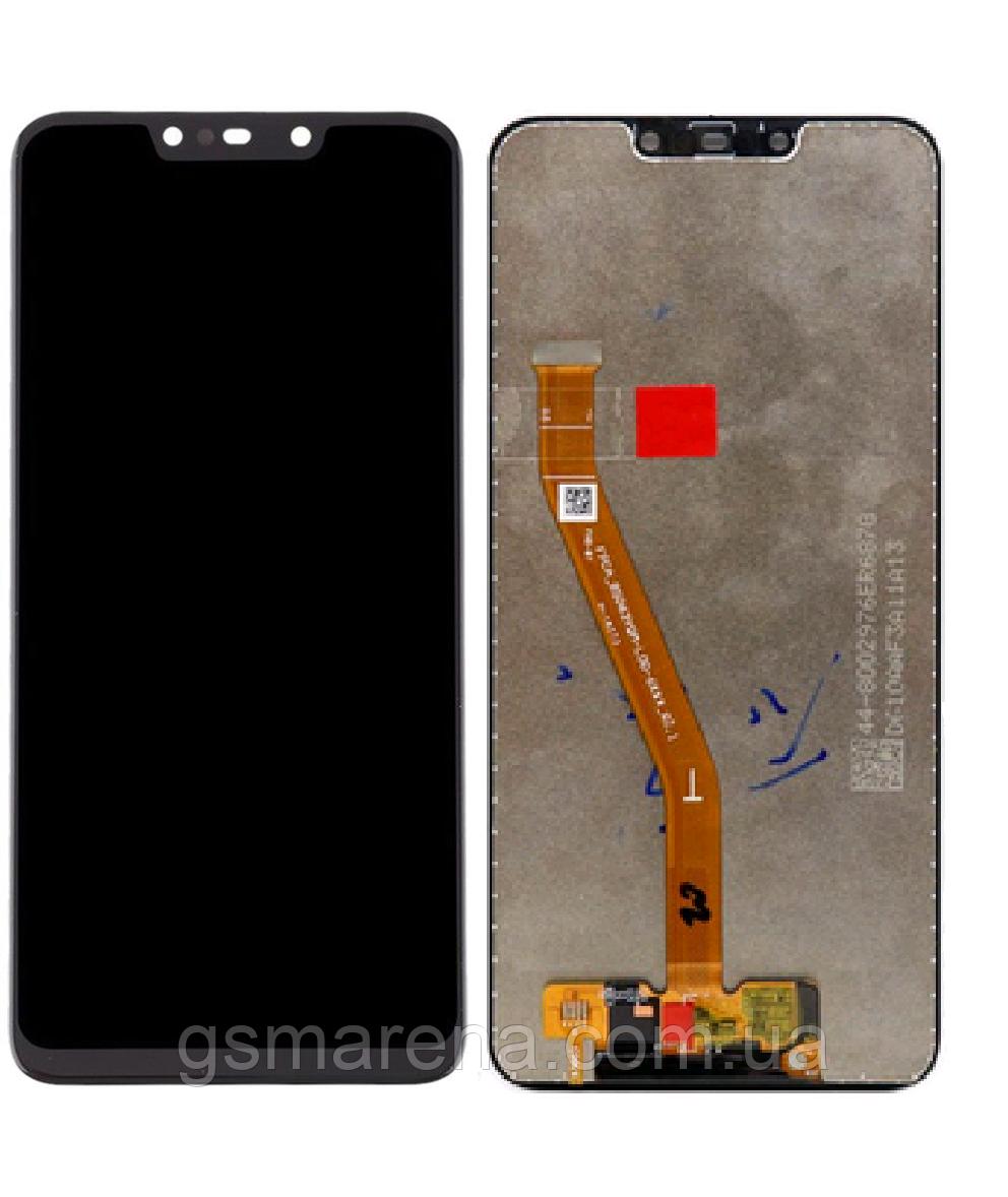 Дисплей модуль Huawei P Smart Plus, Nova 3i Черный Оригинал