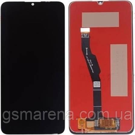 Дисплей модуль Huawei Y6p 2020 (MED-LX9N), Honor 9A (MOA-LX9N) complete Черный Оригинал (PRC)