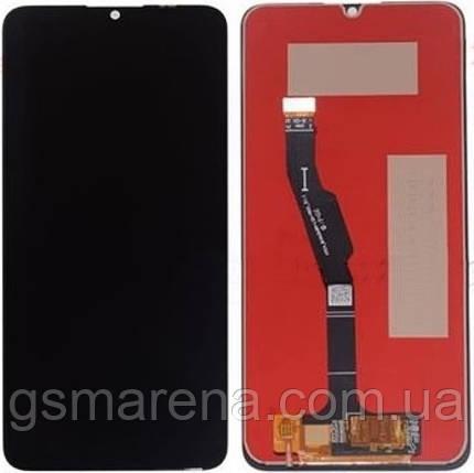 Дисплей модуль Huawei Y6p 2020 (MED-LX9N), Honor 9A (MOA-LX9N) complete Черный Оригинал (PRC), фото 2
