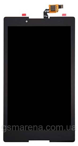 Дисплей модуль Lenovo A8-50F Tab 2 Черный